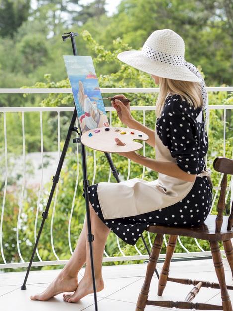 ศิลปะเป็นตัวช่วยให้เกิดสมาธิที่ดีขึ้นได้